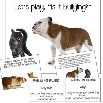 Bullying or Conflict Presentation