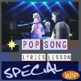 Bullying prevention pop song , lyrics, lesson