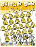 Bumble Bee ABC Match-up (Sensory Bin Mat)