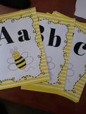 Bumble Bee Alphabet