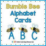 Bumble Bee Alphabet Cards