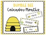 Bumble Bee Calendar Months