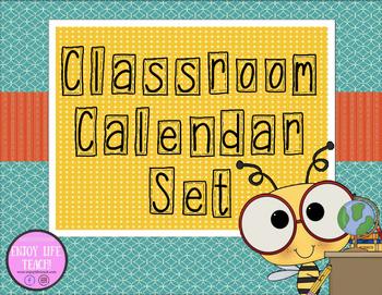 Bumble Bee Calendar Set