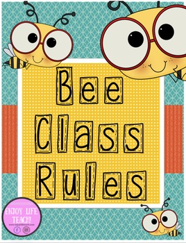 Bumble Bee Class Rules