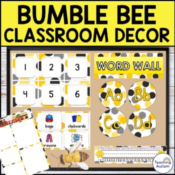 Bumble Bee Classroom Decor Pack