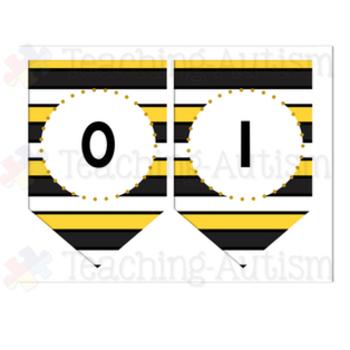Bumble Bee Classroom Decor Pack - Editable