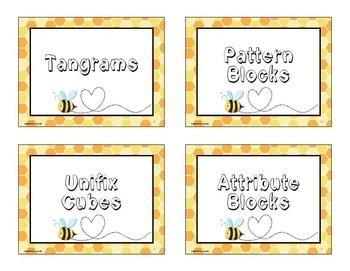 Bumble Bee Classroom Theme