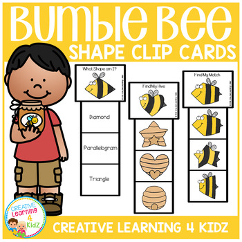 Bumble Bee Clip Cards