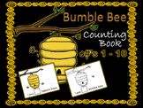 Bumble Bee Counting Book #'s 1 - 10