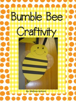 Bumble Bee Craftivity