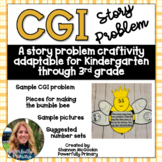 Bumble Bee Craftivity | CGI Word Problem | Story Problem