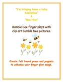 Bumble Bee Finger Play Songs