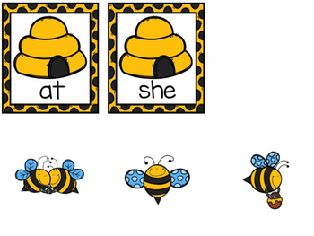 Bumble Bee Fry's First 50 Sight Word Game