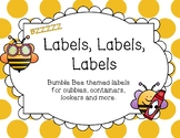 Bumble Bee Labels