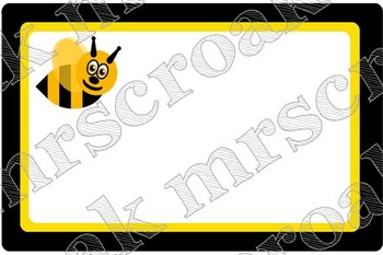 Labels: bee themed, 10 per page
