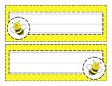 Bumble Bee Nametags