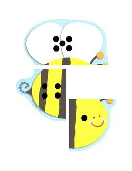 Bumble Bee Number Bonds