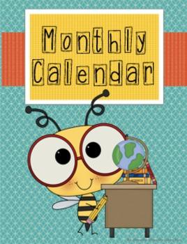 Bumble Bee Teacher Binder