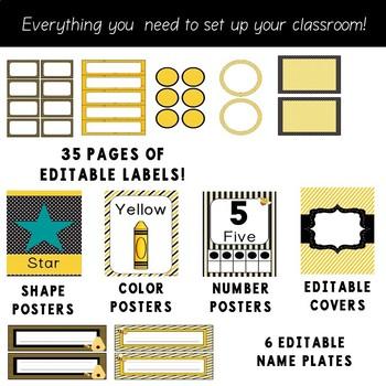 Bumble Bee Theme - Bee Classroom Decor