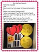 Bumble Bee Valentine's Speech Craft {language articulation craftivity} 100th Day