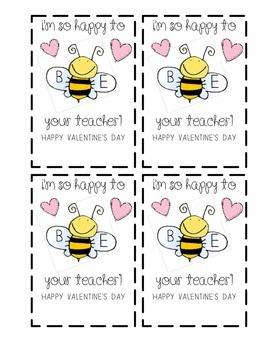 Bumble Bee Valentines