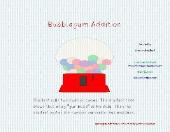 Bumble Gum Addition/Subtraction