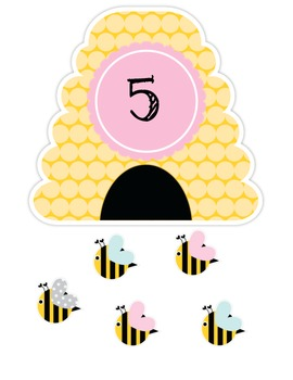 Bumble Number Posters