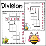 Bumble bee Division practice Google Slides™, Long Division