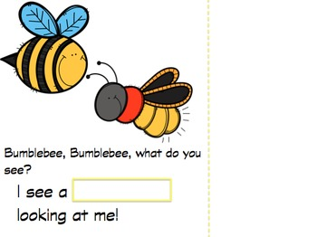 Bumblebee, Bumblebee What Do You See? An Insect and Spring Adapted Book