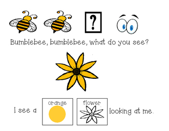 Bumblebee Bumbleebee: An Adapted Book for Special Education