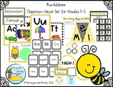 Bumblebee Classroom Decor