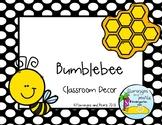 Bumblebee Classroom Decor (mini set)