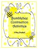 Bumblebee Contractions Packet