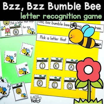 Bumblebee Letter Recognition Game