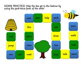 Bumblebee Morphology: Past Tense Verbs