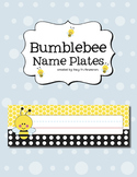 Bumblebee Name Plates
