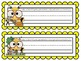 Bumblebee Nameplates with the Alphabet ~ 10 Different Versions