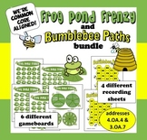 Bumblebee Paths, Frog Pond Frenzy - factors & multiples math games bundle