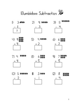 Bumblebee Subtraction