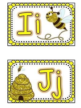Bumblebee Theme Classroom Pack