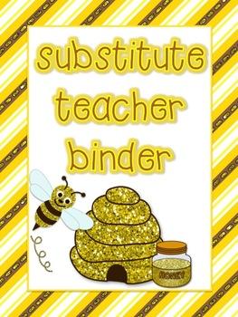 Bumblebee Theme Substitute Binder
