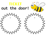 Bumblebee Ticket Out the Door