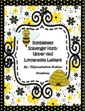 Bumblebees Alphabet Scavenger Hunt: Upper and Lowercase, C