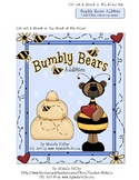 Bumbly Bear Addition!  File Folder Game
