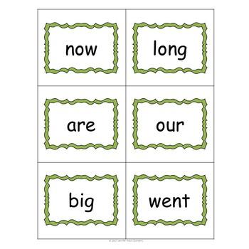 Bummer Sight Word Game- Literacy Center