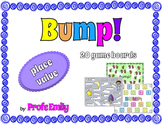 Bump! 20 Math Game Boards - Place Value Edition