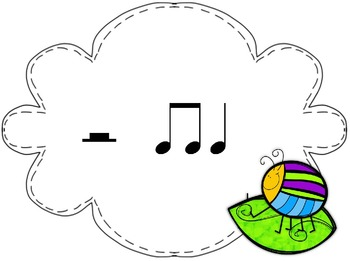 Bump! A Game to Practice Half Note & Rest in the Kodaly & Orff Music Classroom