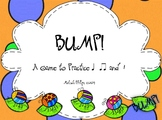 Bump! Game to Practice Ta, TiTi, & Rest in the Kodaly and Orff Music Classroom