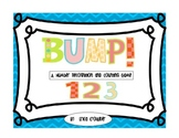 Bump!  A Number Recognition and Counting Game {Freebie}
