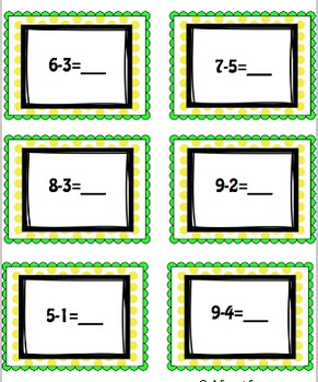 Bump! Basic Addition and Subtraction Math Game